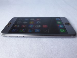 Aegis 3D Curved Tempered Glass Screen Protector: Front Left Side View