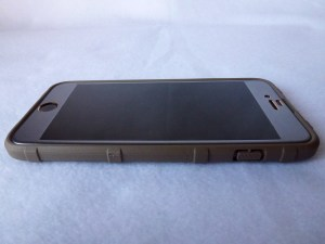 Magpul Field Case for iPhone 6 Plus: Front Side View with Aegis 3D Screen Protector installed