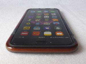 Tech21 Classic Shell for iPhone 6 Plus: Front Top View