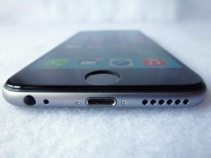 Cinder Screen Protector for iPhone 6: Front Bottom View