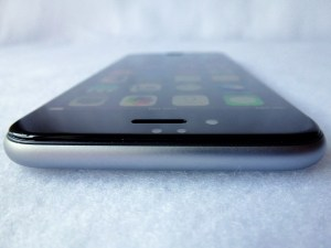 Cinder Screen Protector for iPhone 6: Top View