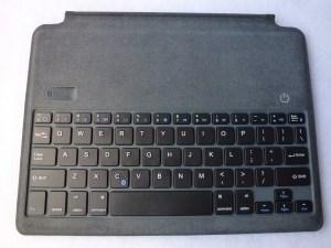 ZeroChroma Keyboard Slide-Lid Case for iPad Air and Air 2: Bluetooth Keyboard Closeup