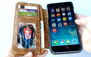 Doc Artisan Sport Wallet Case for iPhone 6 Plus- Open View