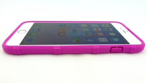 Magpul Field Case for iPhone 6s Plus in Pink- Side View
