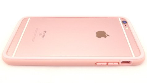 Rhino Shield Crash Guard for iPhone 6s Plus in Shell Pink