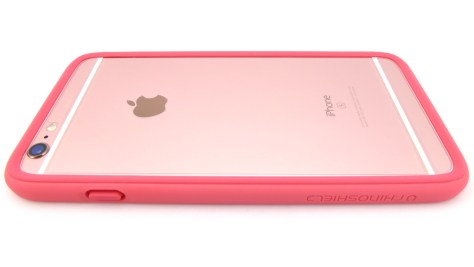 Rhino Shield Crash Guard in Coral Pink- Back View