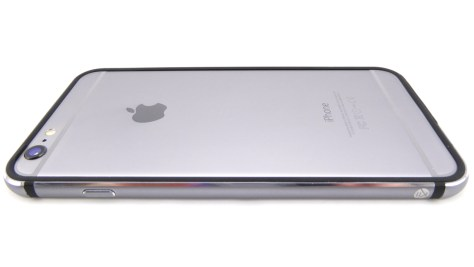 K11 Bumper in Black-Space Grey on Space Grey iPhone 6 Plus