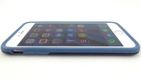 OtterBox Symmetry Colors in Blueberry for iPhone 6s Plus- Front Side View