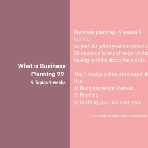 Business Planning 99