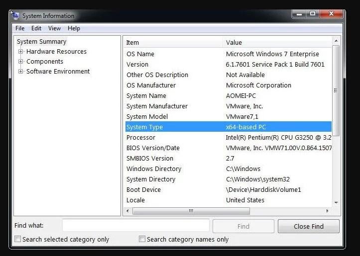 Upgrade Windows 7