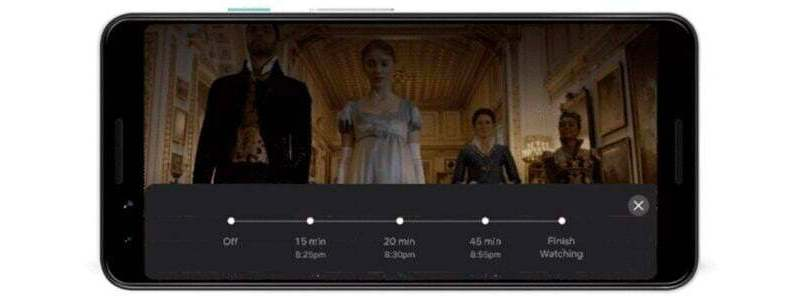 netflix timer android