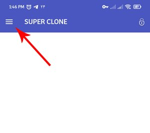 Launch two WhatsApps on the phone with Super Clone