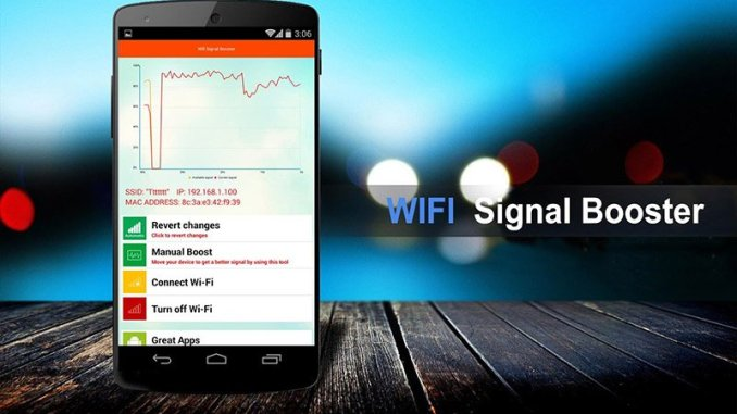ncrease the signal of wifi