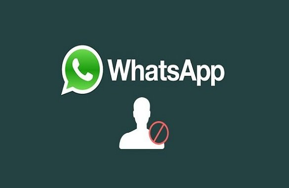 blocked on WhatsApp