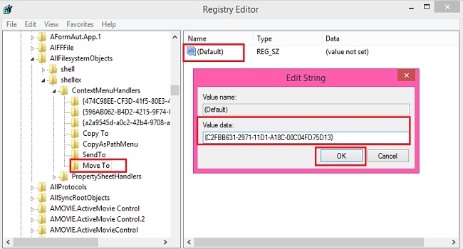 Add COPY TO and MOVE TO to the Windows 10 right-click menu