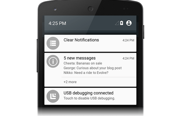 restrict notifications in Android