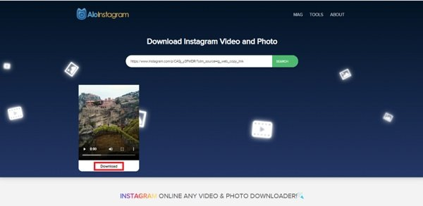 How to download photos, videos, stories and IGTV on Instagram?
