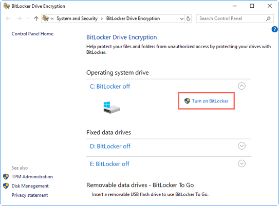 Increase Windows 10 security