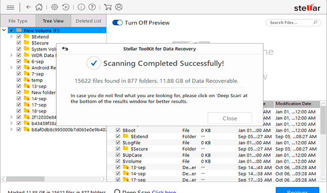 Toolkit for Data Recovery