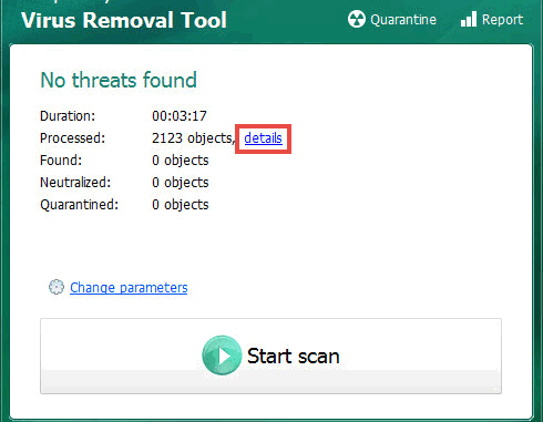 Virus Removal Tool