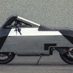 EVスクーターVX-1を未来的なデザインにカスタマイズした「Hope」