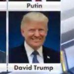 【謎】Fox Newsが「デイビッド・トランプ」とアメリカ合衆国大統領を誤表記してしまう【ネタ】
