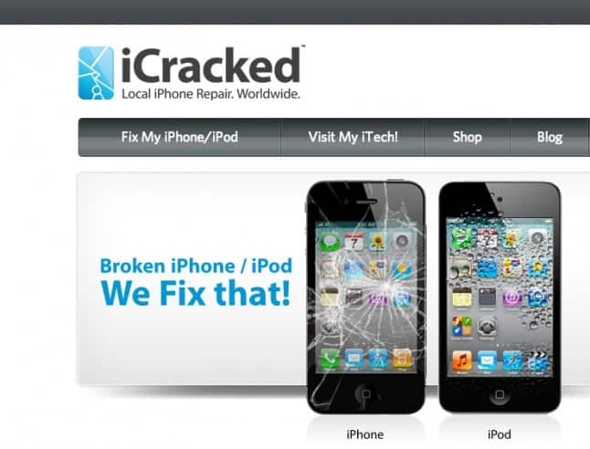 iCracked - A Dependable Service That Fixes iPhones, iPods, iPads and Samsung Galaxy Devices