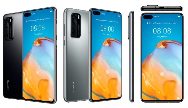 قبل الإصدار الرسمى مواصفات وأسعار هواتف Huawei P40 و P40 Pro