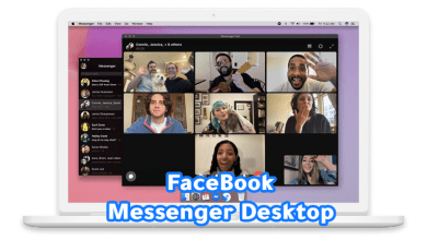 Photo of رسمياً Facebook تطلق تطبيق Messenger لسطح المكتب لنظامي Windows و macOS