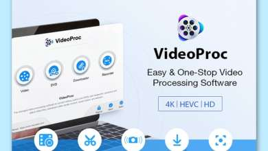 Photo of برنامج تحويل وتحرير الفيديو VideoProc مجاناً لفترة محدودة