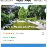Google Trips - viagem a Barcelona