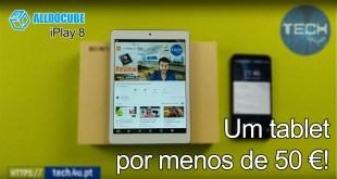 AllDoCube iPlay 8 - Um tablet por menos de 50 euros