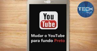YouTube - tema escuro / preto