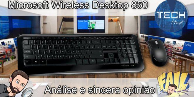 Microsoft Wireless Desktop 850 - Análise