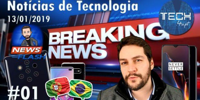 Notícias tecnológicas #01