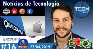 Notícias de Tecnologia #16
