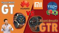 Xiaomi Amazfit GTR vs Huawei Watch GT - comparativo