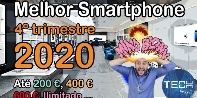 Melhor smartphone 4T 2020 - 2021