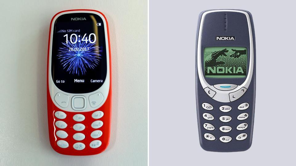 nokia 3310 old vs new