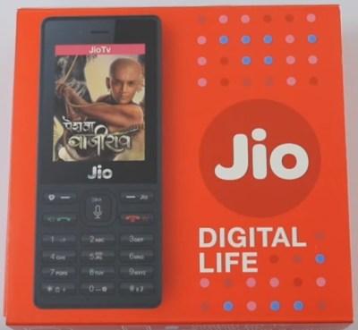 Jio phone retail BOX