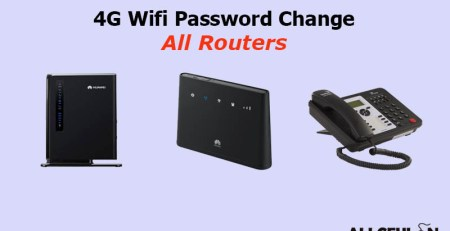 ROUTER password change method