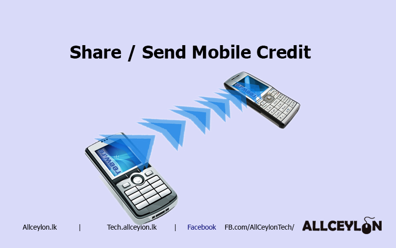 Send,Transfer, share credit on your mobile