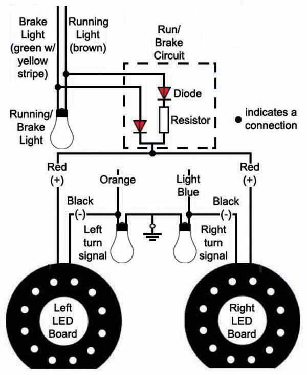How To Wire Turn Signals And Brake Lights Motorcycle