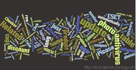 Tech Sharing wordcloud sample 3