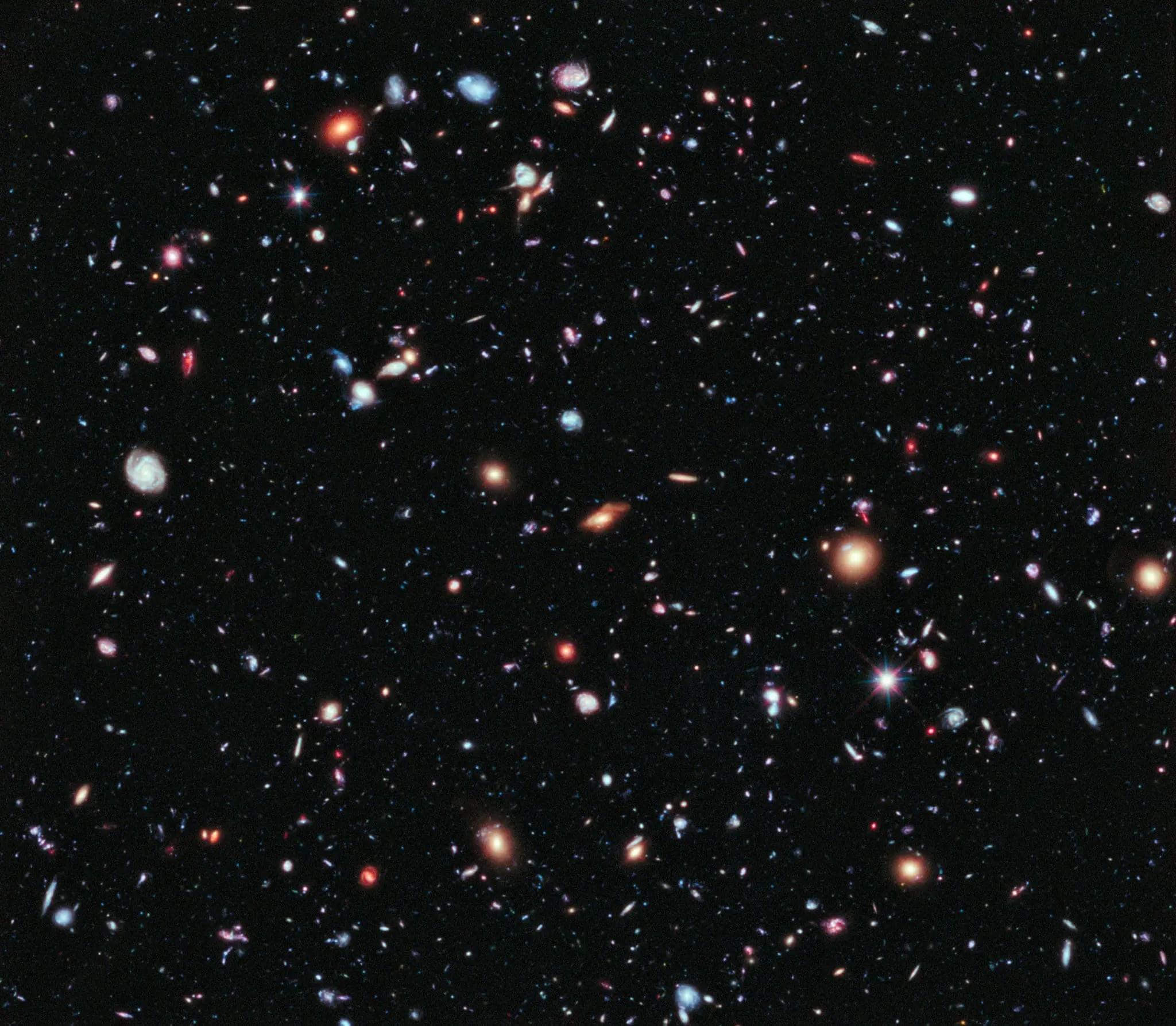 New cosmic map