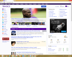 Yahoo! Without AdBlock