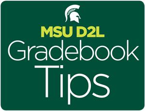 Grade book Tips graphic