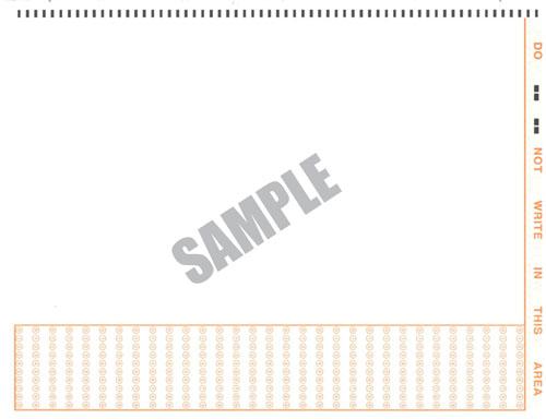 Image of Survey bubble form