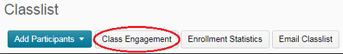Class Engagement button circled