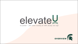 elevateU Overview Thumbnail